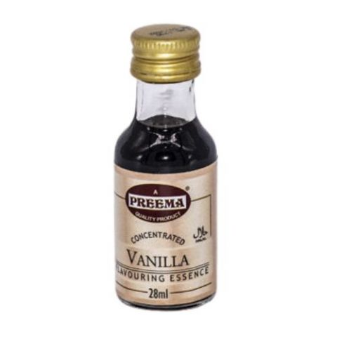 Vanilla Concentrated Flavouring Essence Preema 28ml